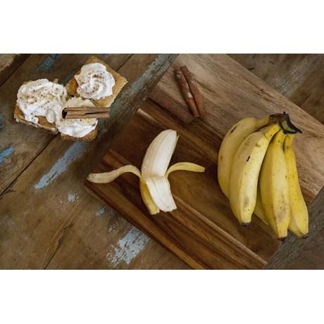 Banana Maçã - 6 Unidades (Cacho com 6 Bananas)