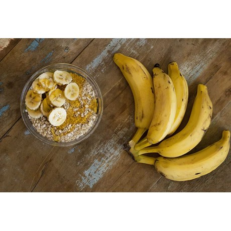 Banana Prata - 6 Unidades (Cacho com 6 Bananas)